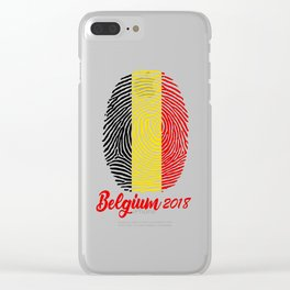 FIFA WORLD CUP 2018 - BELGIUM Clear iPhone Case