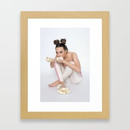 Accidental Cake Framed Art Print
