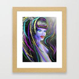#Vibes Framed Art Print
