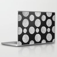 polka Laptop & iPad Skins featuring polka by spinL