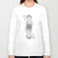 jasmine Long Sleeve T-shirts featuring jasmine by Peonies