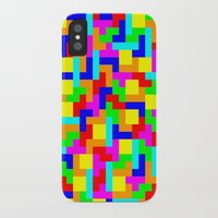 tetris iPhone & iPod Cases featuring Tetris by tonilara