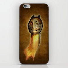 ...meanwhile in the woods... iPhone & iPod Skin