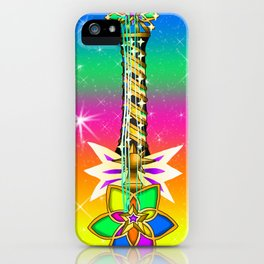 Fusion Keyblade Guitar #155 - Nightmare's End Reality Shift & Starlight iPhone Case