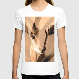 Beautiful and fast - Impala portrait T-shirt