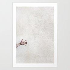 helpless. Art Print