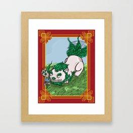 The Tiniest Guardian (Shi) Framed Art Print