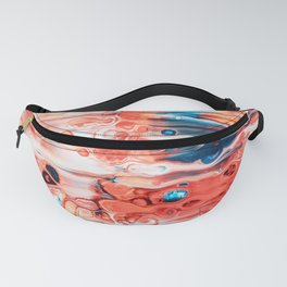 One of a Kind #abstract #digitalart Fanny Pack