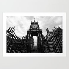 Eastgate Clock Art Print