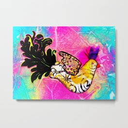 Fancy Bird Metal Print