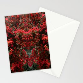 Mirrored Trees 11 Stationery Cards