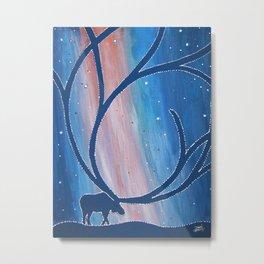 Aurora Bou Metal Print