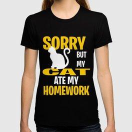 Funny Cat Gift Idea T-shirt