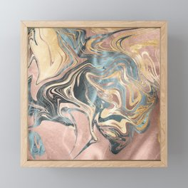 Liquid Gold Framed Mini Art Print