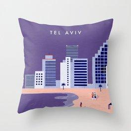 Tel Aviv Throw Pillow
