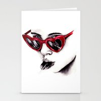 lolita Stationery Cards featuring Lolita  by Bella Harris