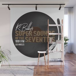 K - Billy´s Super Sounds of the Seventies Wall Mural