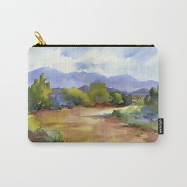Distant Santa Fe Carry-All Pouch