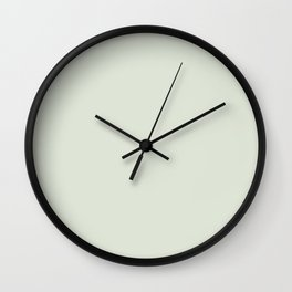 Whisper Green Wall Clock