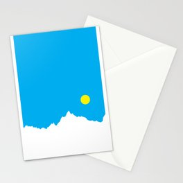 Mountain Sky Day Stationery Cards