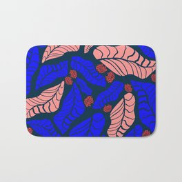 Bright bold floral designs for fashion and home Bath Mat