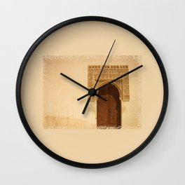 Moor Door Wall Clock
