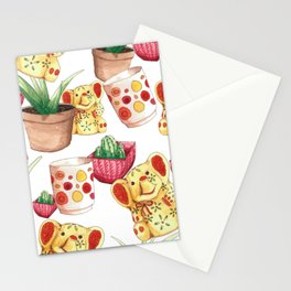 All the Cute Stuff Pattern Stationery Cards