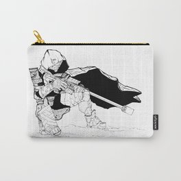 Hunter in the Wastes Carry-All Pouch