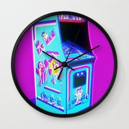 MS. PAC MAN - 1982 ARCADE MACHINE Wall Clock