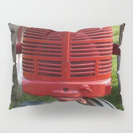 Red Farmall Tractor Pillow Sham