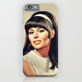 Marianna Hill, Vintage Actress iPhone Case