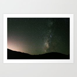 The Way That is Milky Art Print