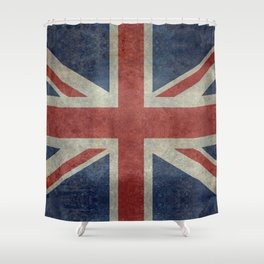 Union Jack Official 3:5 Scale Shower Curtain