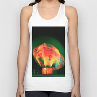 lights Tank Tops featuring Lights by Teodora Roşca