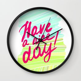 For the positive! Wall Clock