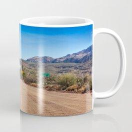 Apache Trail dirt road Coffee Mug