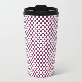Boysenberry Polka Dots Travel Mug