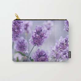 lavender Purple Carry-All Pouch
