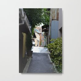 A Secret Passageway Metal Print
