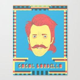 Gogol Bordello Canvas Print