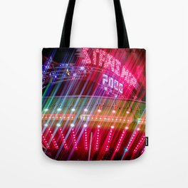 All Aboard the Starship carnival ride Tote Bag