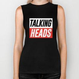 TALKING HEADS Biker Tank