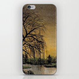 Sunset On The Lake iPhone Skin