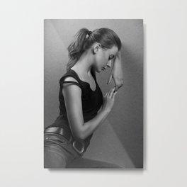 K. Metal Print
