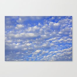 Lots of tiny clouds. Canvas Print