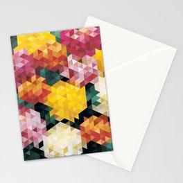 Chrysanthemums 2 Stationery Cards
