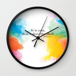 Quotes Wall Clock