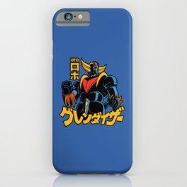 148 Goldrake Jap iPhone Case