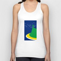 brazil Tank Tops featuring BRAZIL by Marcus Wild