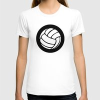 volleyball T-shirts featuring Volleyball Ideology by ideology